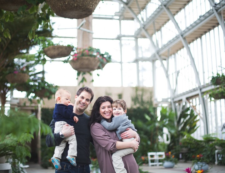 Fun Family Portraits at the St. Louis Jewel Box