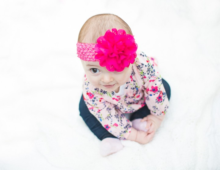 St. Louis Baby Photography | Missouri Botanical Gardens