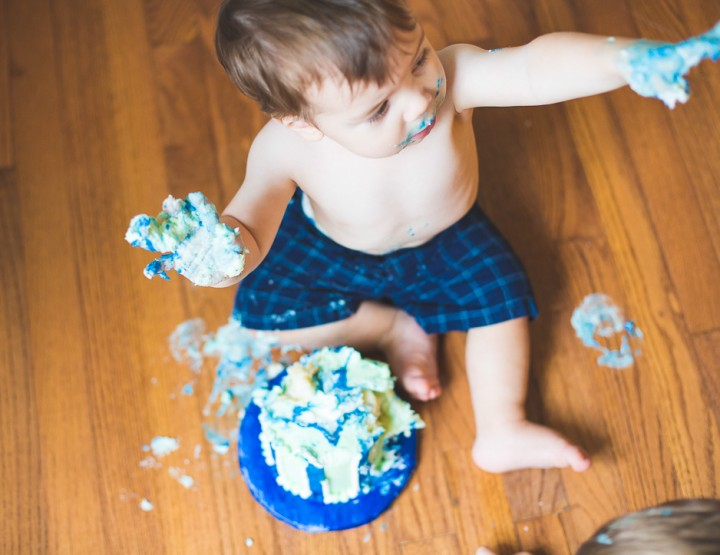 First Birthday Family Photography | St. Louis Cake Smash
