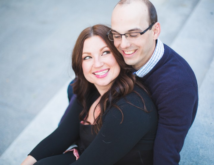 St. Louis Engagement Photography | Busch Stadium | City Garden