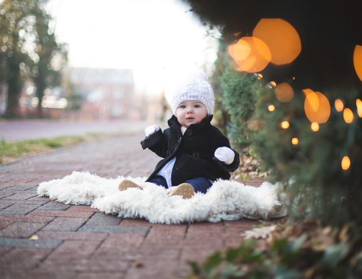Holiday Family Photography | Main Street St. Charles