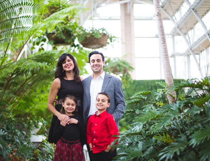 St. Louis Family Photography | the Jewel Box in Forest Park