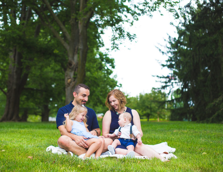 St. Louis Family Photography | Our Lady of the Snows