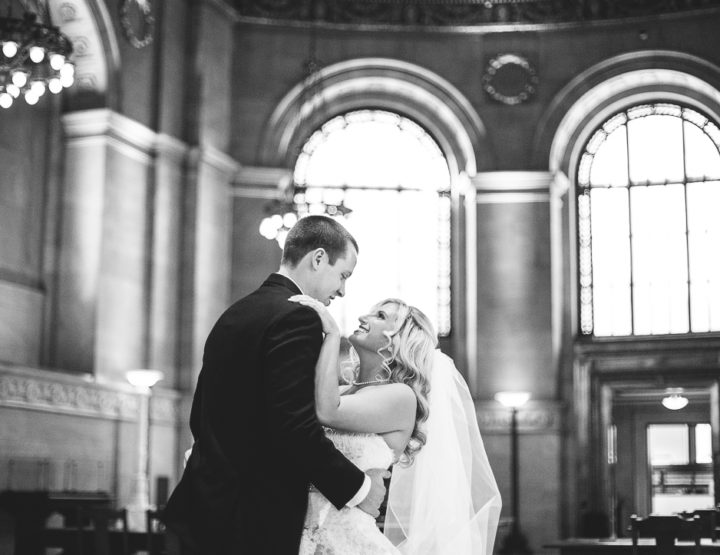 St. Louis Wedding Photography | Marriott Grand | Crystal Ballroom