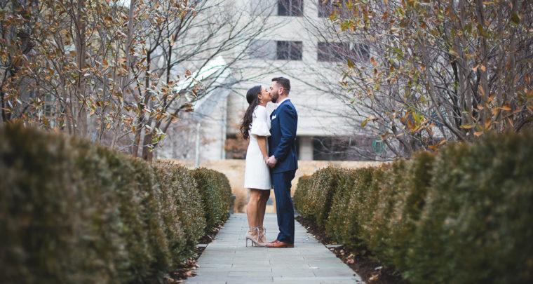 St. Louis Engagement Photography | City Garden