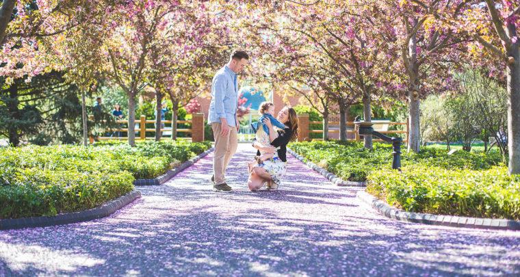 St. Louis Family Photography | MO Botanical Garden