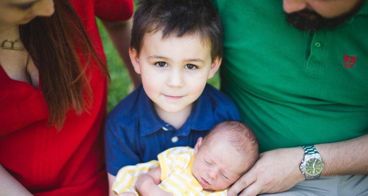 St. Louis Newborn Photography | In Home Newborn Portraits