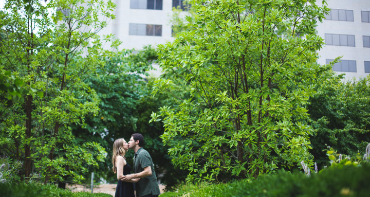 St. Louis Engagement Photography | City Garden | Busch Stadium