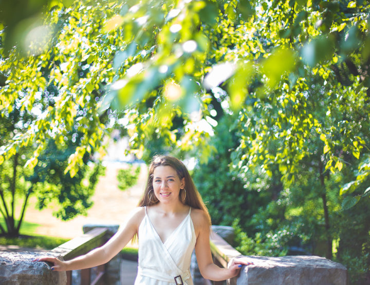 St. Louis Senior Portrait Photography | Oak Knoll Park