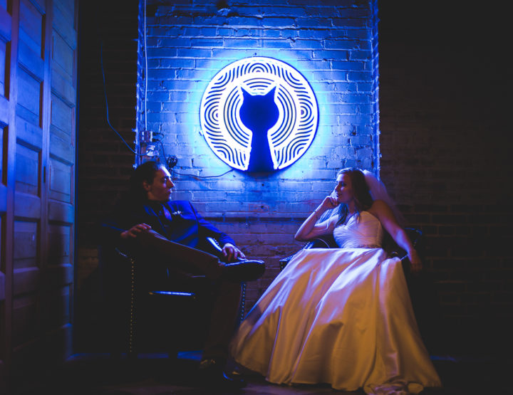 St. Louis Wedding Photography | Moonrise Hotel | Boo Cat Club