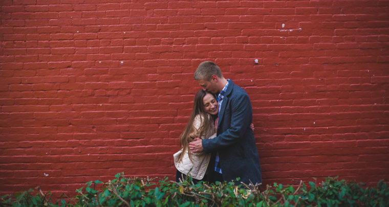 St. Louis Proposal Photography | Main Street St. Charles