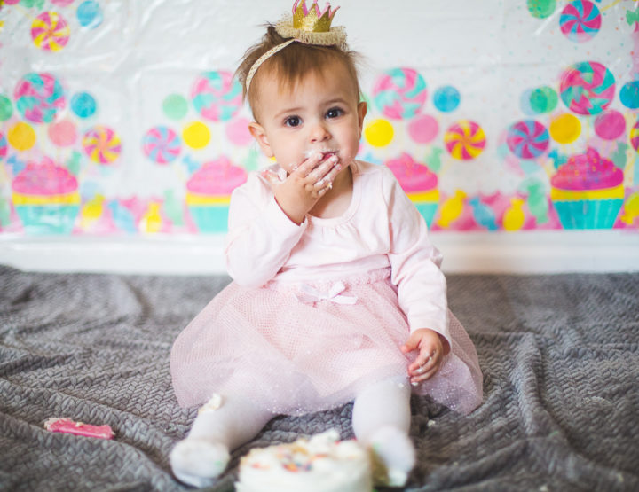 St. Louis Baby Photography | First Birthday Cake Smash