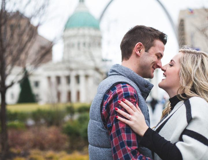 St. Louis Proposal Photography | Downtown Arch Proposal