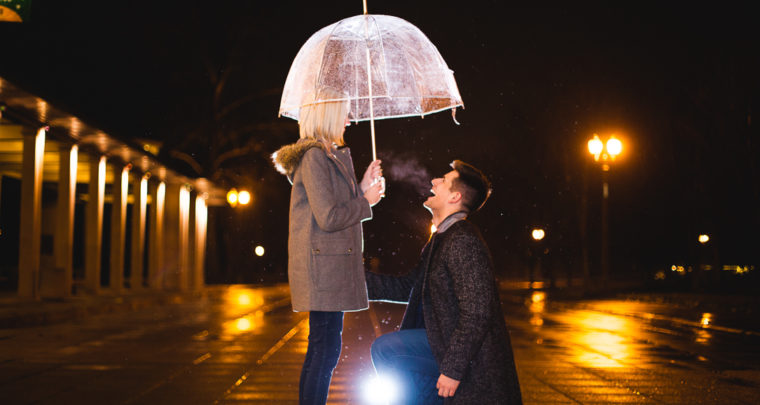 St. Louis Proposal Photography | the Muny