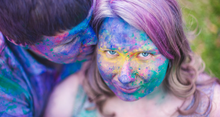 St. Louis Fun Photography | Color Powder