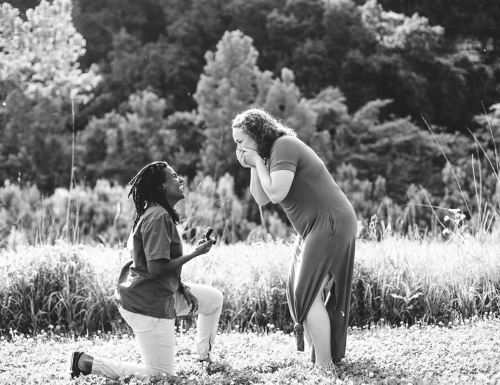 St. Louis Proposal Photography | Cliff Cave Park