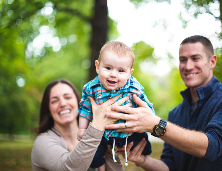 St. Louis Baby Photography | Lafayette Square Park