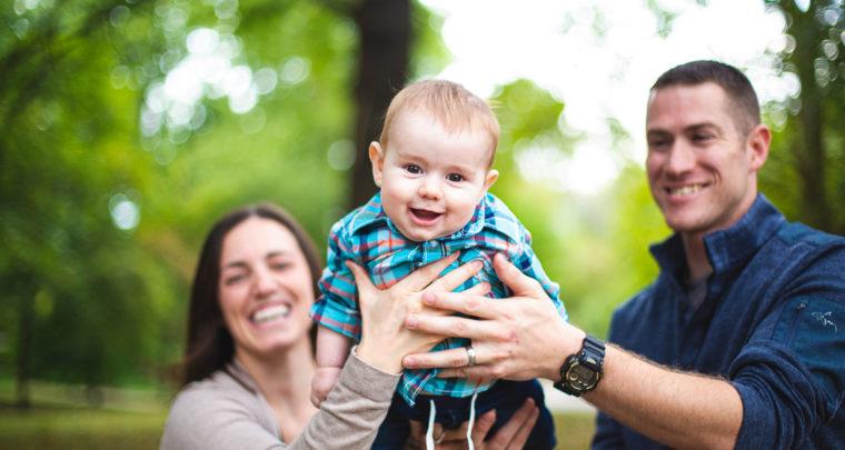 St. Louis Baby Photography | Lafayette Square Park