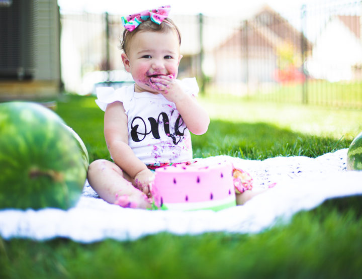 St. Louis First Birthday Photography