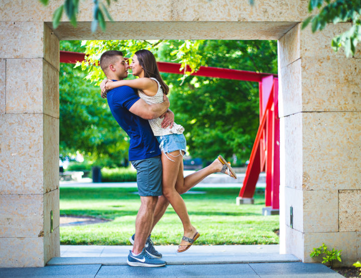 St. Louis Proposal Photography | City Garden