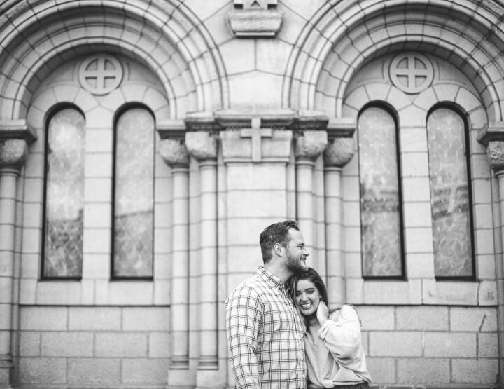 St. Louis Proposal Photography | Cathedral Basilica