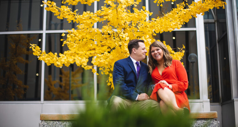 St. Louis Engagement Photography | Downtown