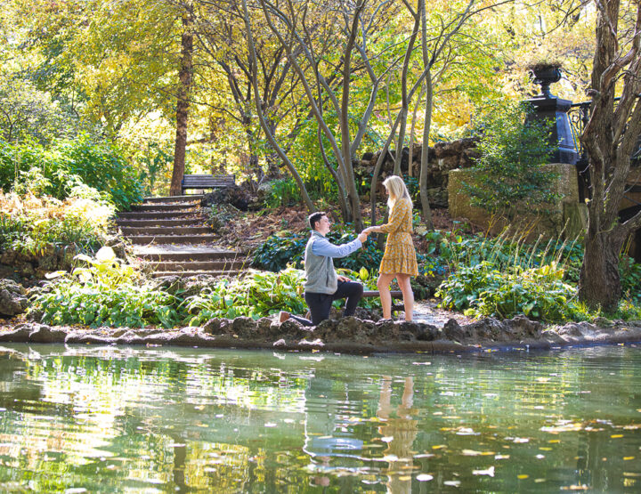 St. Louis Proposal Photography | Lafayette Square Park