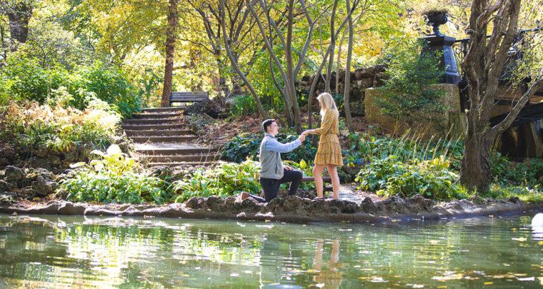 St. Louis Proposal Photography | Lafayette Square Park
