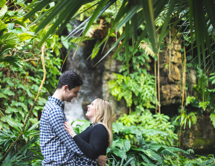 St. Louis Proposal Photography | Botanical Gardens
