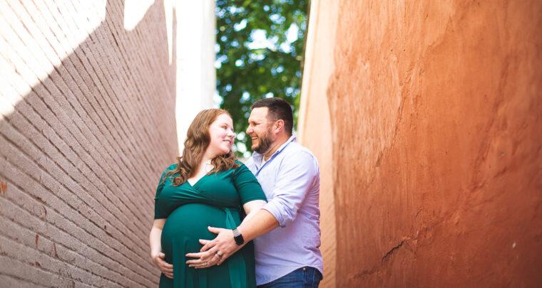 St. Louis Maternity Photography   Main Street Saint Charles